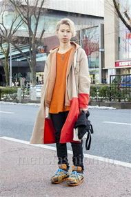 ファッションコーディネート原宿・表参道 2014年02月 細井尊人さん