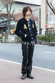 ファッションコーディネート原宿・表参道 2014年02月 石田直輝さん