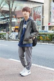 ファッションコーディネート原宿・表参道 2014年02月 名古屋 優さん