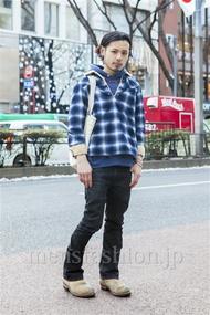 ファッションコーディネート原宿・表参道 2014年02月 佐藤拓弥さん