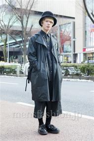 ファッションコーディネート原宿・表参道 2014年02月 高橋佑誠さん