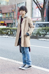 ファッションコーディネート原宿・表参道 2014年02月 佐藤貴龍さん