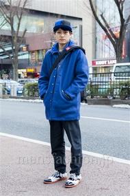 ファッションコーディネート原宿・表参道 2014年02月 宮崎翔平さん