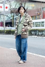 ファッションコーディネート原宿・表参道 2014年02月 加藤康貴さん