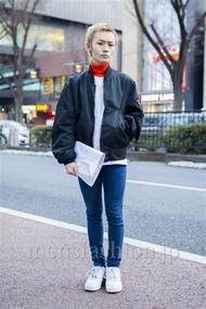 ファッションコーディネート原宿・表参道 2014年02月 田縁海人さん