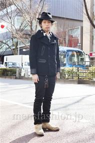 ファッションコーディネート原宿・表参道 2014年02月 小林綾太さん