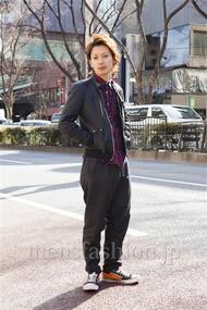 ファッションコーディネート原宿・表参道 2014年02月 新田快広さん
