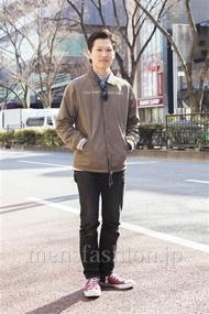 ファッションコーディネート原宿・表参道 2014年02月 ワタベショウマさん