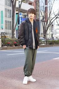 ファッションコーディネート原宿・表参道 2014年02月 長坂睦生さん