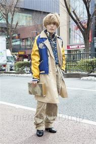 ファッションコーディネート原宿・表参道 2014年02月 nabescoさん