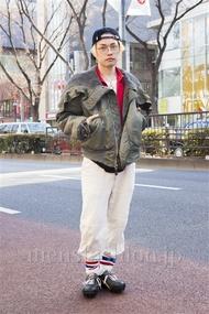 ファッションコーディネート原宿・表参道 2014年02月 井上貴弘さん