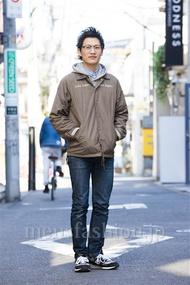 ファッションコーディネート原宿・表参道 2014年03月 ワタベショウマさん