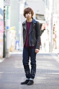 ファッションコーディネート原宿・表参道 2014年03月 大木 光さん