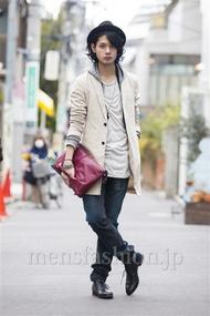 ファッションコーディネート原宿・表参道 2014年03月 藤木亮介さん