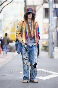 ファッションコーディネート原宿・表参道 2014年03月 北向達也さん