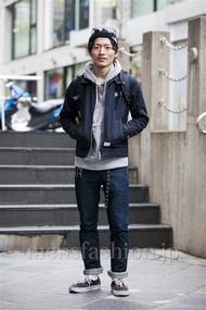 ファッションコーディネート原宿・表参道 2014年03月 大河光太朗さん