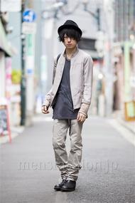 ファッションコーディネート原宿・表参道 2014年03月 勝田俊介さん