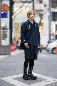ファッションコーディネート原宿・表参道 2014年03月 Rikuさん