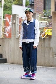 ファッションコーディネート原宿・表参道 2014年03月 宮崎翔平さん