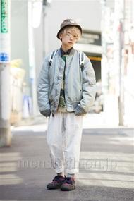 ファッションコーディネート原宿・表参道 2014年03月 アンドウコウイチさん