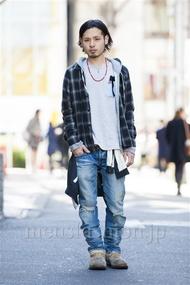 ファッションコーディネート原宿・表参道 2014年03月 佐藤拓弥さん