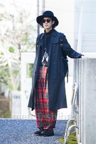 ファッションコーディネート原宿・表参道 2014年03月 くろさん