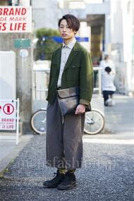 ファッションコーディネート原宿・表参道 2014年03月 宮部恭輔さん