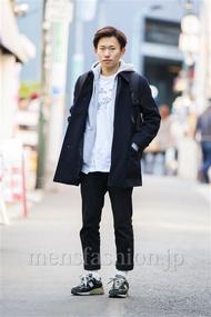 ファッションコーディネート原宿・表参道 2014年03月 二見恭仁さん