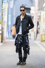 ファッションコーディネート原宿・表参道 2014年03月 石田直輝さん