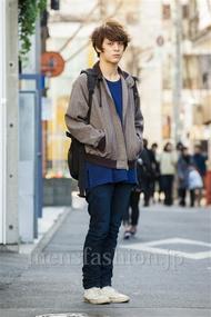 ファッションコーディネート原宿・表参道 2014年03月 佐々木和彦さん
