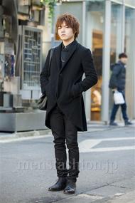 ファッションコーディネート原宿・表参道 2014年03月 悠介さん
