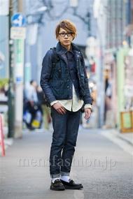 ファッションコーディネート原宿・表参道 2014年03月 宮下佳佑さん