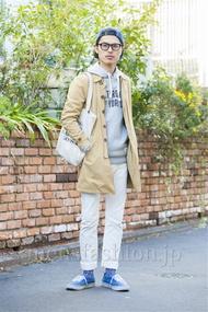 ファッションコーディネート原宿・表参道 2014年03月 青山清志さん