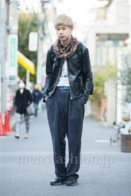 ファッションコーディネート原宿・表参道 2014年03月 岡崎 翼さん