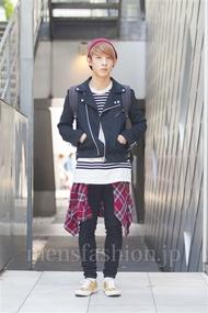 ファッションコーディネート原宿・表参道 2014年04月 名古屋雅史さん