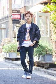 ファッションコーディネート原宿・表参道 2014年04月 名古屋 優さん