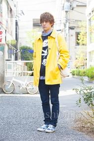 ファッションコーディネート原宿・表参道 2014年04月 佐々木和彦さん