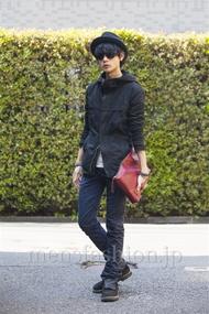 ファッションコーディネート原宿・表参道 2014年04月 藤木亮介さん