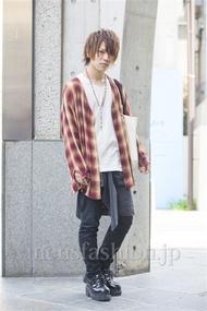 ファッションコーディネート原宿・表参道 2014年04月 夏川登志郎さん