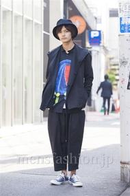 ファッションコーディネート原宿・表参道 2014年04月 長坂睦生さん