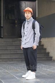 ファッションコーディネート原宿・表参道 2014年04月 今野優樹さん