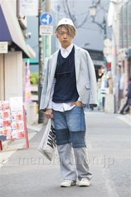 ファッションコーディネート原宿・表参道 2014年04月 アンドウコウイチさん