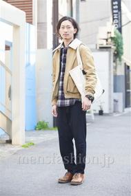 ファッションコーディネート原宿・表参道 2014年04月 松金祐大さん