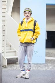 ファッションコーディネート原宿・表参道 2014年04月 井上貴弘さん