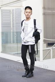 ファッションコーディネート原宿・表参道 2014年04月 田縁海人さん