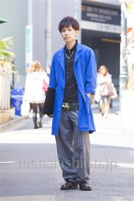 ファッションコーディネート原宿・表参道 2014年04月 糸川耀士郎さん