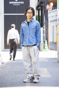ファッションコーディネート原宿・表参道 2014年04月 佐藤貴龍さん