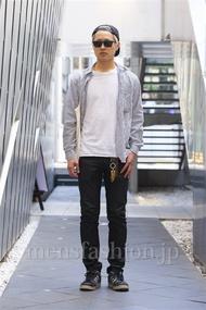 ファッションコーディネート原宿・表参道 2014年04月 中澤卓也さん