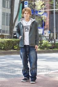 ファッションコーディネート原宿・表参道 2014年04月 中沢和貴さん