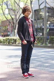 ファッションコーディネート原宿・表参道 2014年04月 さいとうゆうたさん